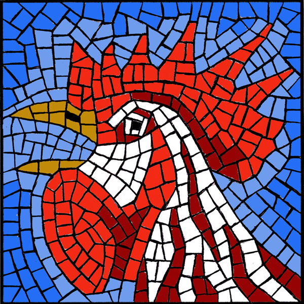 Image gallery mosaic patterns for Mosaic patterns online
