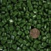 Leaf Green Deep MMT8B118 recycled glass mosaic tile Morjo brand