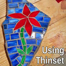 Using Thinset in Mosaic